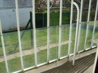 Protection balcon plexiglas
